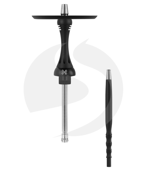 Alpha Hookah Model X Rauchsäulenset - Matt Black