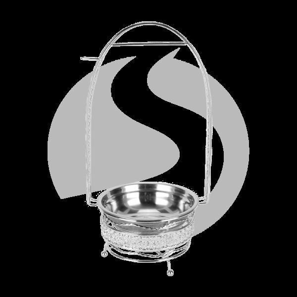 Cyborg Hookah Kohlebehälter - Silver Klein