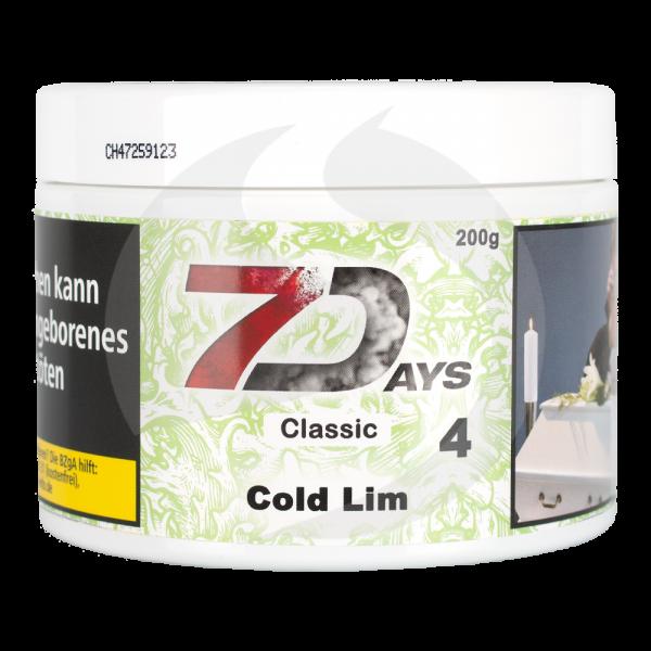 7 Days Tabak Classic 200g - Cold Lim (4)