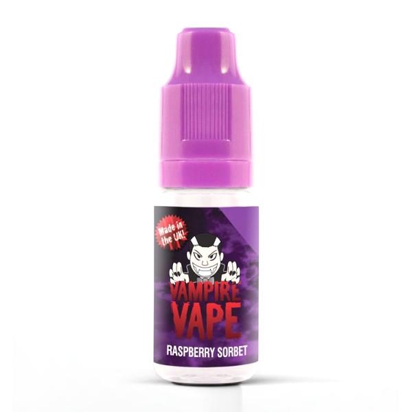 Vampire Vape E-Liquid 10ml 0mg - Raspberry Sorbet