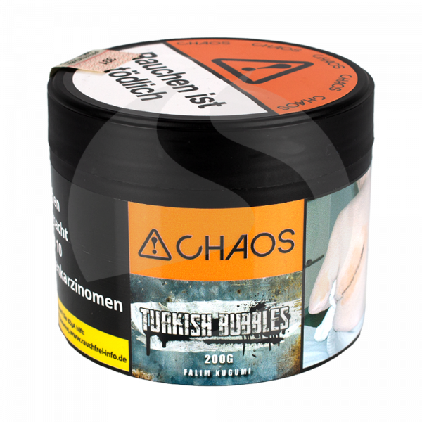 Chaos Tobacco 200g - Turkish Bubbles