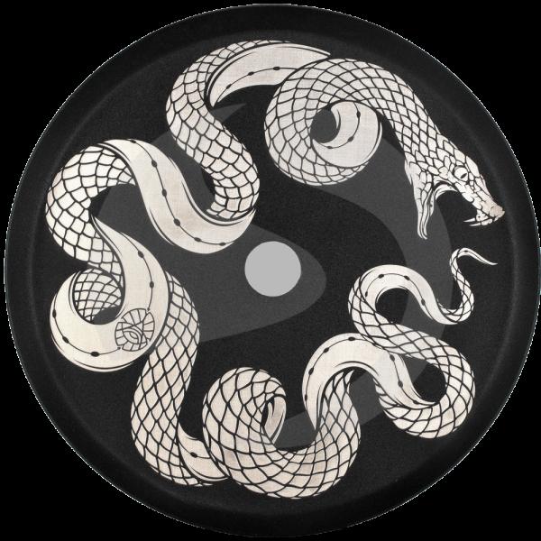 ALPHA Hookah Designed Kohleteller - Snake