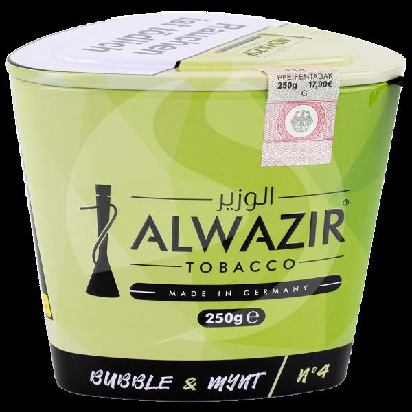 Al Wazir Tobacco 250g - No. 04 Bubble & Mynt
