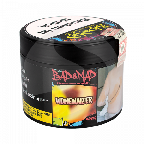 Bad & Mad Tobacco 200g - Womenaizer