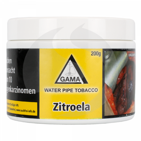 Gama Tobacco 200g - Zitroela