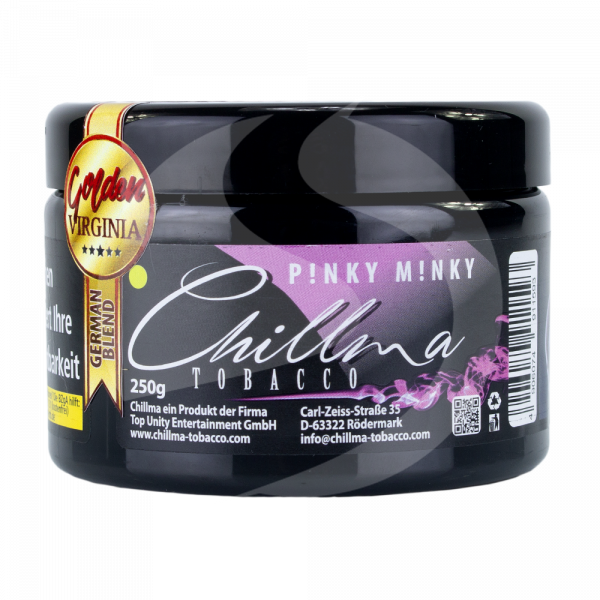 Chillma Tobacco 250g - P!nky M!nky