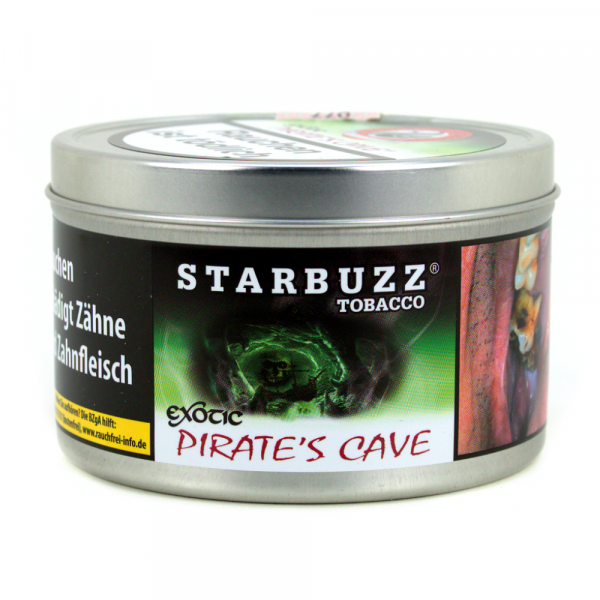 Starbuzz Tabak 200g - Pirate's Cave