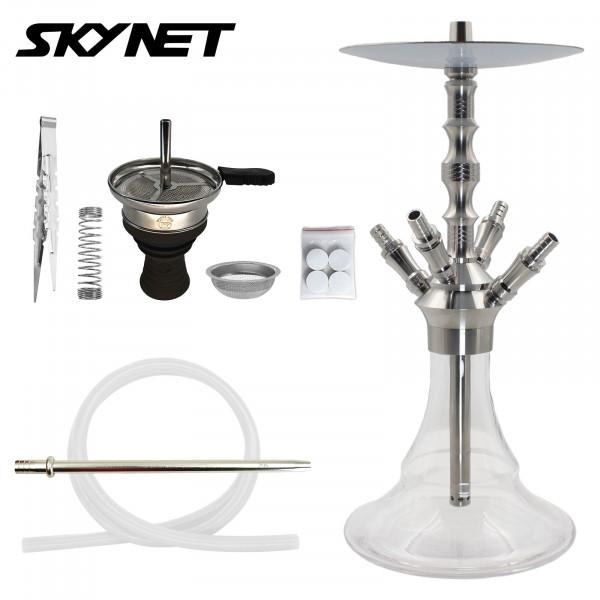 Skynet Shisha Lune 723 Edelstahl - Clear