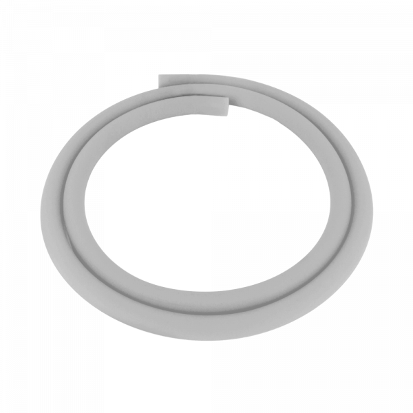 Luna Silikonschlauch - Silber