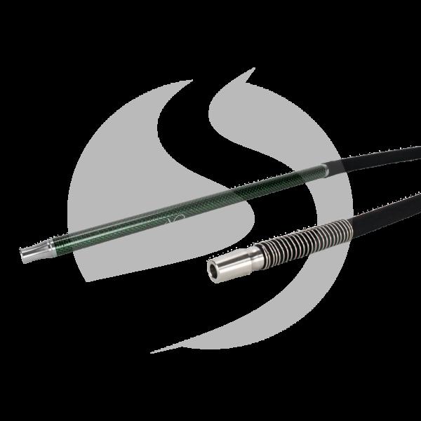 AO Hookah Carbon Schlauchset - Schwarz-Grün