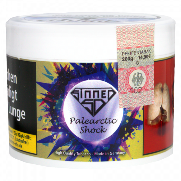 Sinned Tobacco 200g - Palearctic Shock