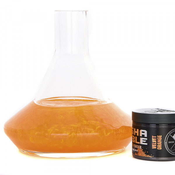 Shisha Bubble Farbpulver 50g - Velvet Orange