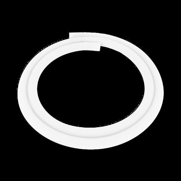 Silikonschlauch - Weiß