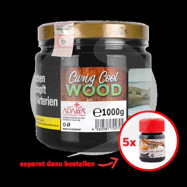 Adalya Tabak 1kg Dose - Cwng Cool Wood (77)