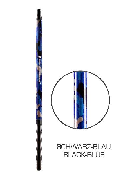 Kaya Camouflage Colors Alu Mundstück - Schwarz/Blau