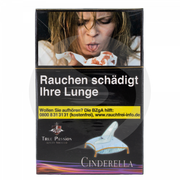 True Passion Tobacco 20g - Cinderella