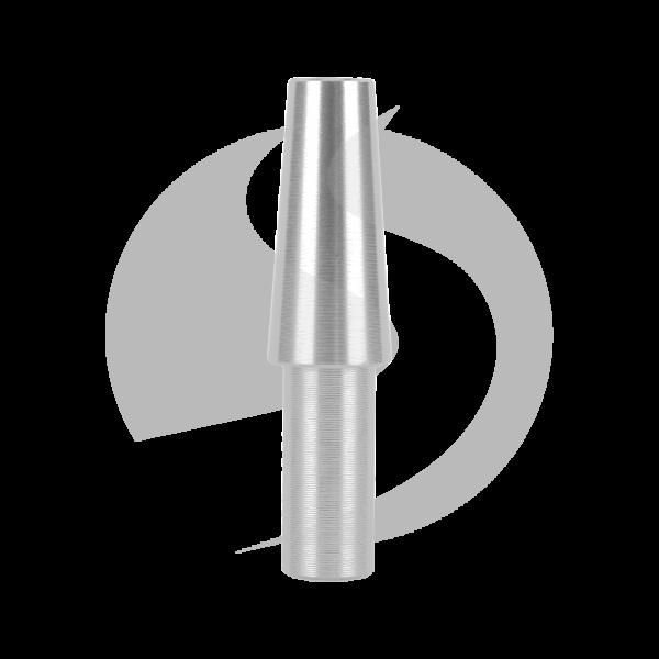 Schlauch Endstück - Silber