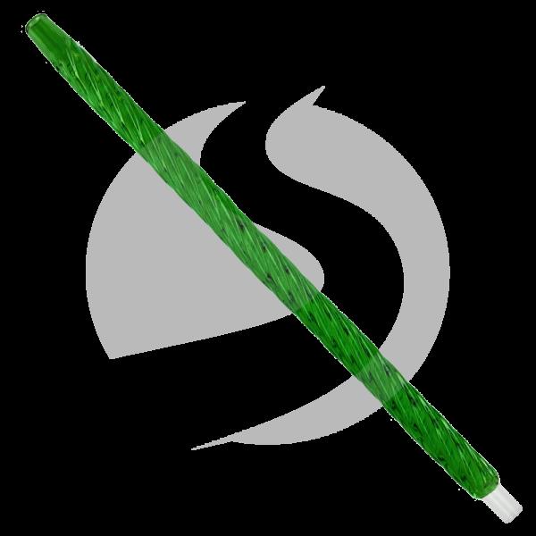 CRT Glasmundstück Einhorn - Grün