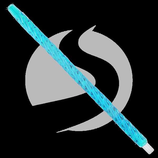 CRT Glasmundstück Einhorn - Blau