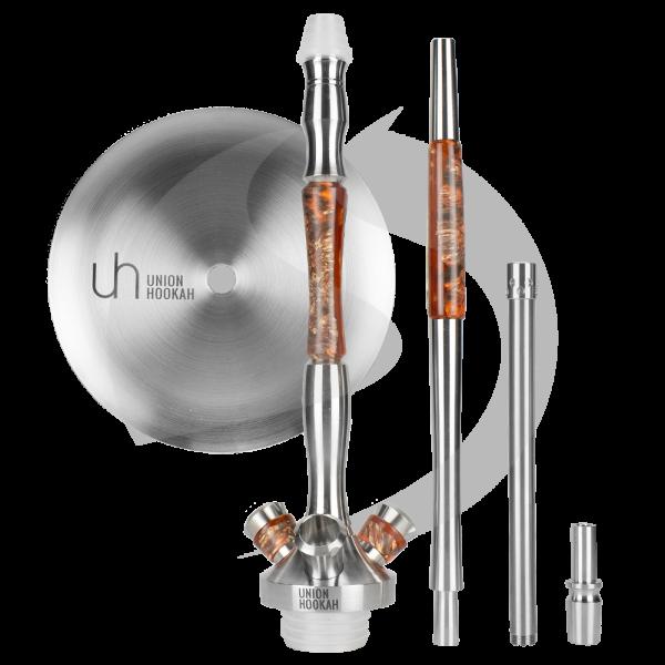 Union Hookah Fibonacci Hybrid Rauchsäulenset - Orange