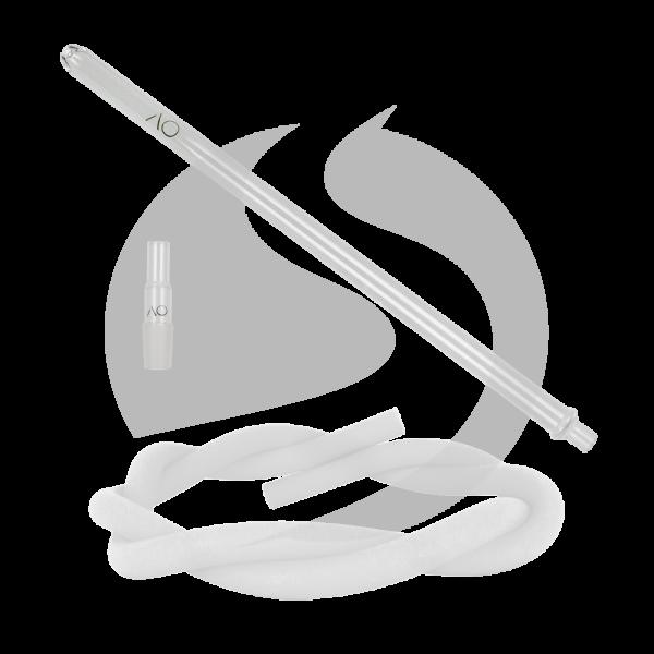 AO Hookah Glasmundstück SET - Round Clear