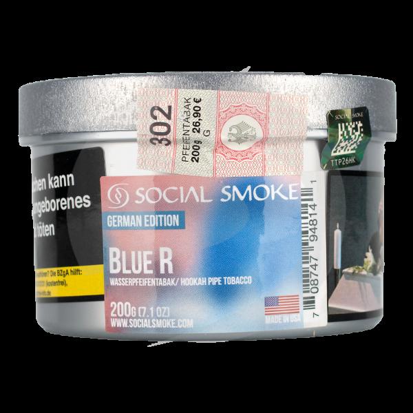 Social Smoke 200g - Blue R