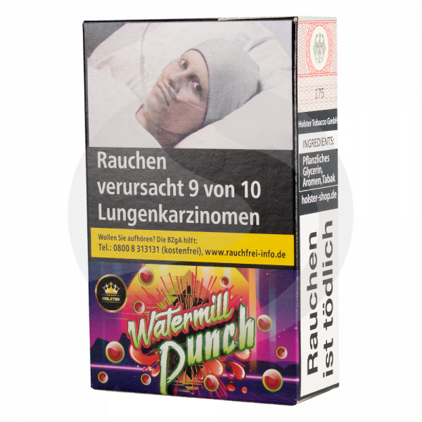 Holster Tobacco 20g - WATERMILL Punch