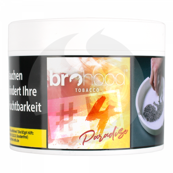 Brohood Tobacco 200g - # 4 Paradise