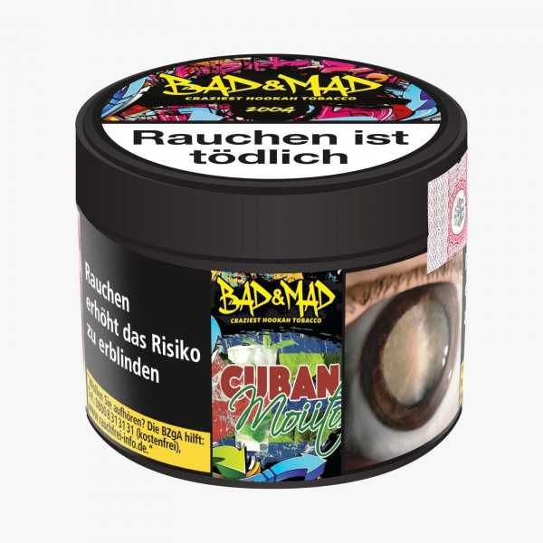 Bad & Mad Tobacco 200g - Cuban Moiito