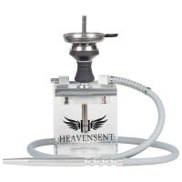 Heavensent Cube Shisha 2.0 - Silver