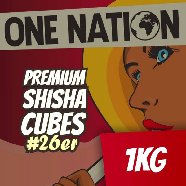 One Nation #26 Naturkohle 1kg