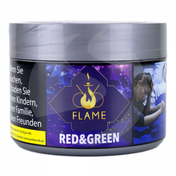 Flame Tobacco 200g - Red & Green