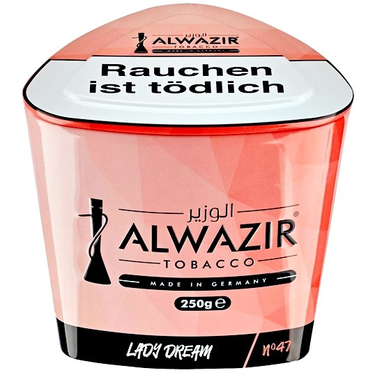 Al Wazir Tobacco 250g - No. 47 Lady Dream