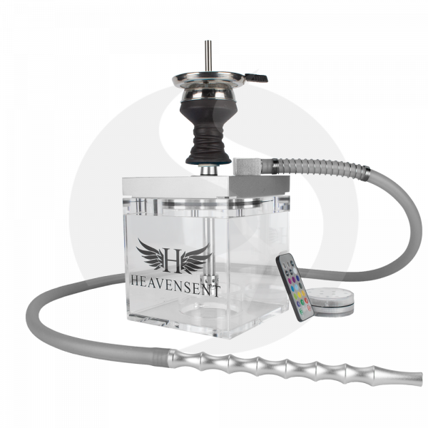Heavensent Cube Shisha 3.0 - Silver