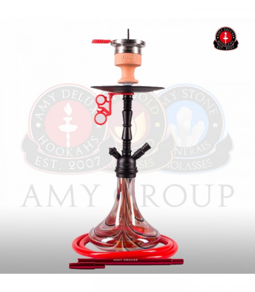 Amy Shisha Middle Zoom 058R - PSMBK-RD (Red)