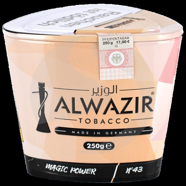 Al Wazir Tobacco 250g - No. 43 Magic Power