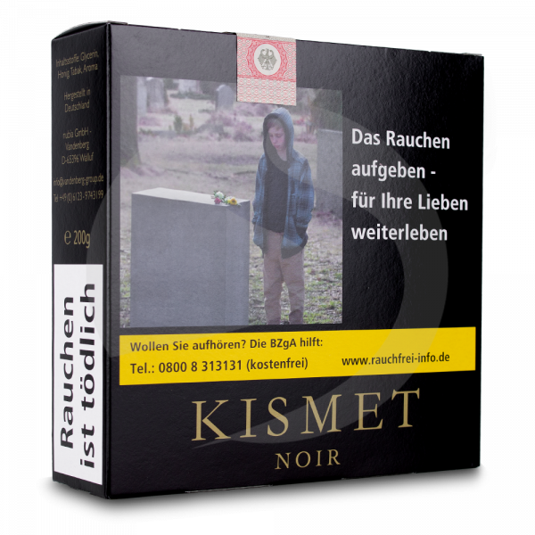 Kismet Honey Blend 200g - Blck Rspbrry 42