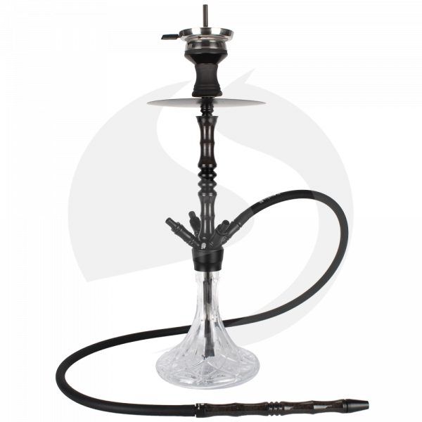Cyborg Hookah Prince of Wood - Black Red Abu