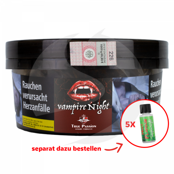 True Passion Tobacco 1kg - Vampire Nights