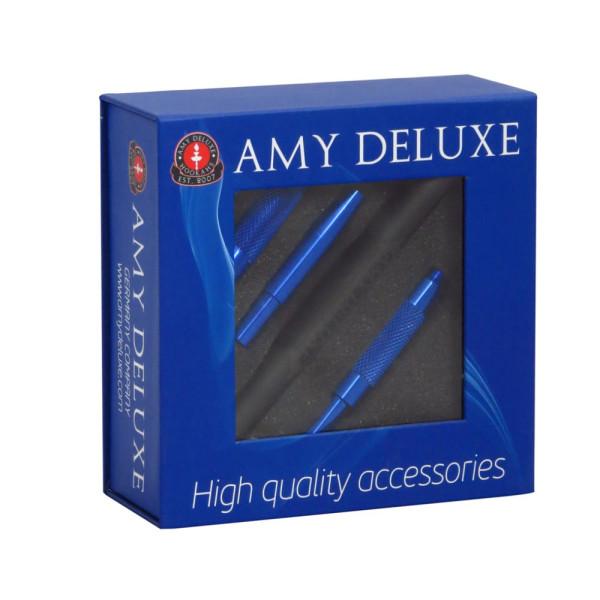 AMY Deluxe Alu. Mundstück in Box - Blau