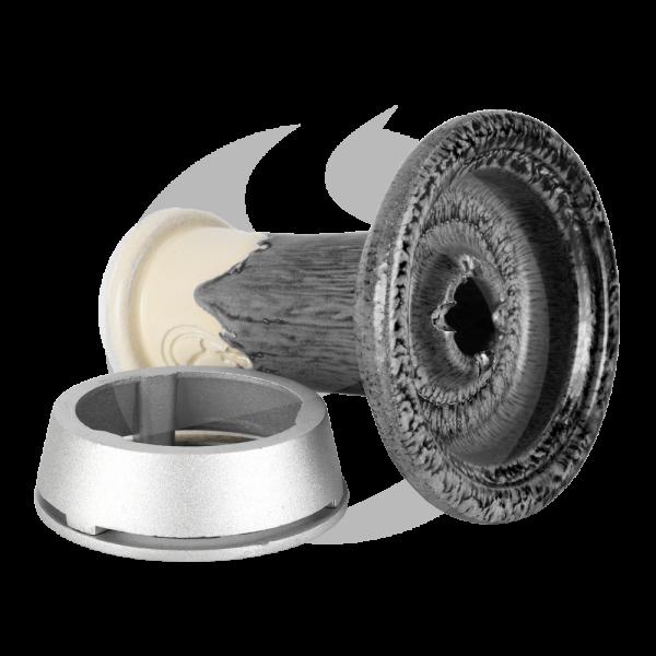 Dschinni Schamottstein Phunnel - Royal Negro + Smoke Box
