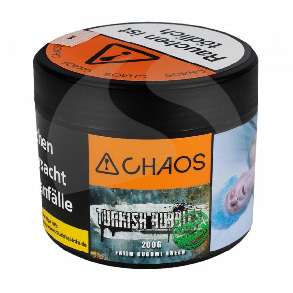Chaos Tobacco 200g - Turkish Bubbles Code Green