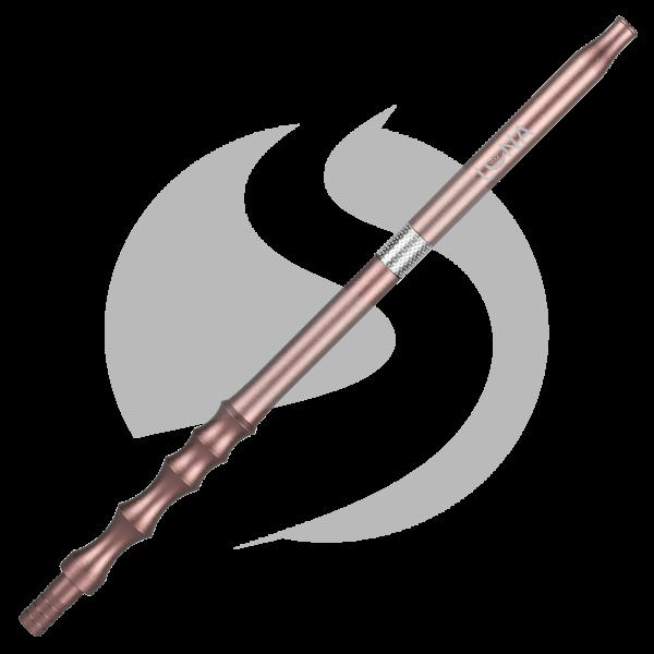 Luna Hookah Steel Tip - Matt Gold/Silver
