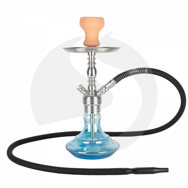Caesar Shisha Edelstahl Paris 02 Color - Shining Light Blue