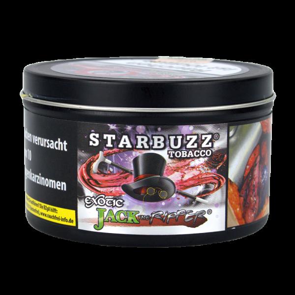 Starbuzz Tabak 200g - Jack the Ripper
