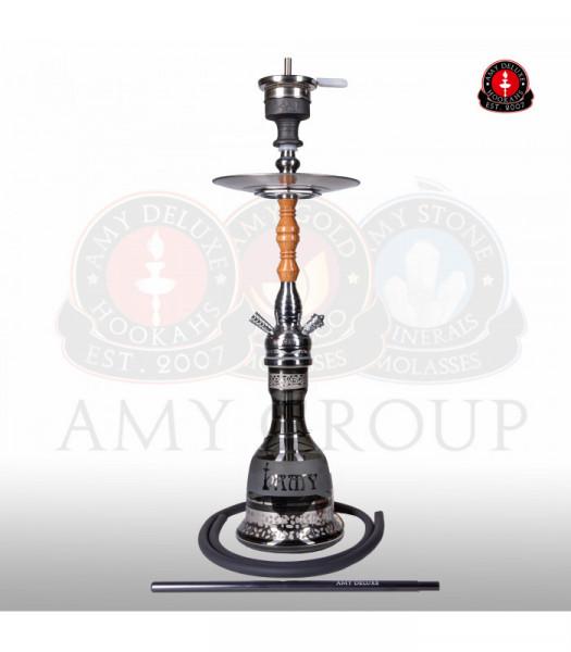 Amy Deluxe 087.01 Tradi - C.BN -BK/SR (Silber)
