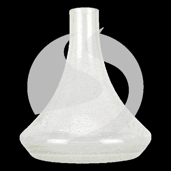 Ersatzglas Diamond Hookah 2.0 ohne Gewinde - Glow Green