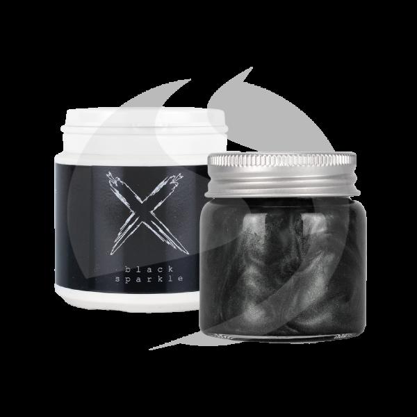 Xschischa X-Pulver 50g - Black Sparkle