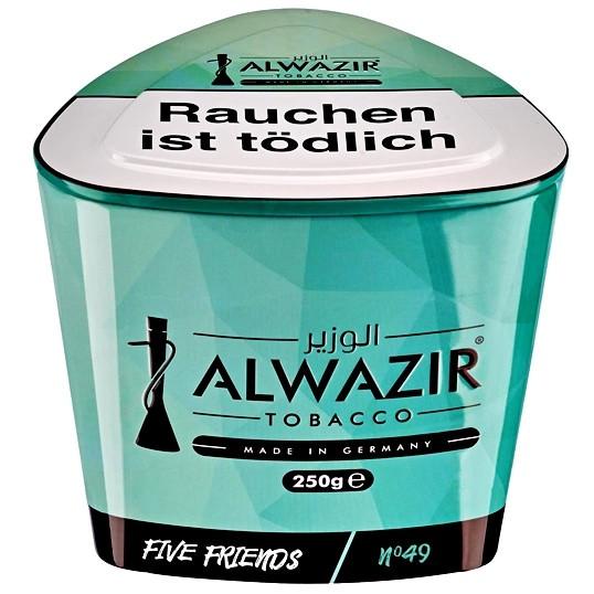 Al Wazir Tobacco 250g - No. 49 Five Friends