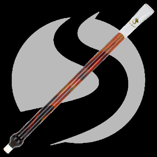 Dschinni Glasmundstück Flatline - Flame